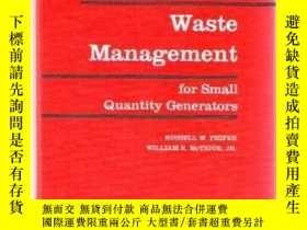 二手書博民逛書店Handbook罕見of Hazardous Waste Man