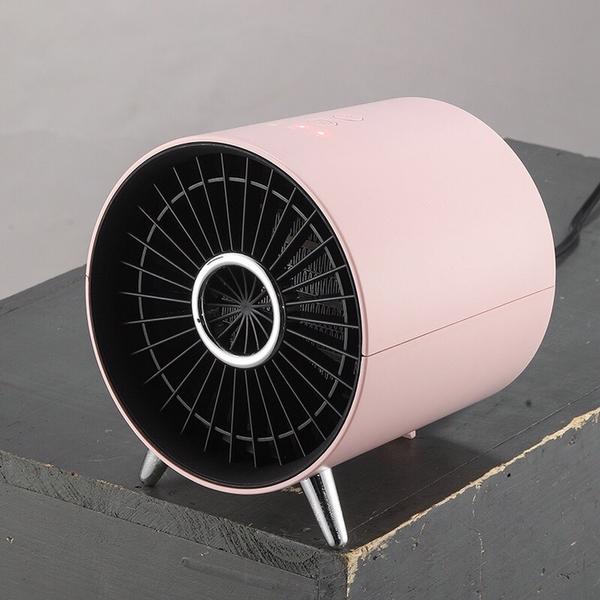 110V美規取暖器臺灣美國日本家用暖風機迷你室內辦公室桌面電暖爐 1995生活雜貨