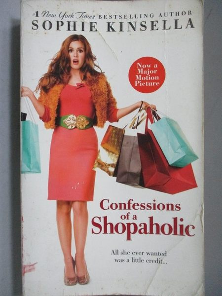 【書寶二手書T2/一般小說_OPU】Confessions of a Shopaholic_SOPHIE KINSELL