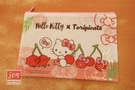 Hello Kitty&Toripicals 凱蒂貓 熱帶水果鳥 中可愛資料袋 KRT-214733B