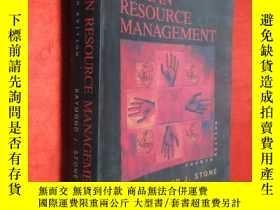 二手書博民逛書店HUMAN罕見RESOURCE MANAGEMENT(FOURT