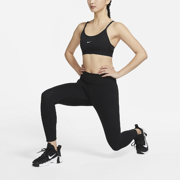 Nike 運動內衣 INDY Training Bra 黑 白 女款 背心 基本款 運動休閒 【ACS】 CZ4463-010