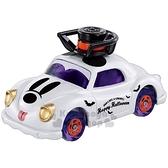 〔小禮堂〕迪士尼 米奇 TOMICA小汽車《紫白.萬聖節》模型.公仔.玩具車 4904810-11412