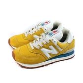 NEW BALANCE 574 復古鞋 運動鞋 黃色 男鞋 ML574HB2-D no897