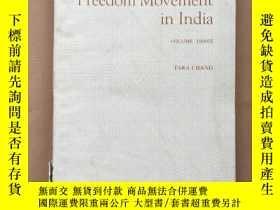 二手書博民逛書店history罕見of the freedom movement