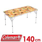 【Coleman 美國 自然風抗菌摺桌/140】CM-26750/摺疊桌/露營桌/戶外休閒桌