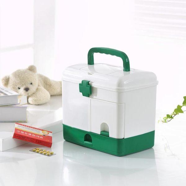 醫藥箱 家庭用特大號藥箱家用多層塑料醫藥箱急救箱藥品收納箱保健箱