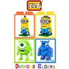 LOZ 迷你鑽石小積木 怪獸大學 毛怪 大眼仔 小小兵 樂高式 組合玩具 益智玩具 原廠正版