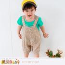 零碼特價出清嬰幼兒套裝 百貨專櫃正品純棉短T&吊帶褲 男童裝 魔法Baby