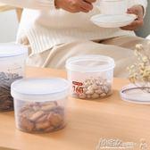 糖罐子 塑料密封儲物罐瓶子罐子放食品餅干雜糧糖果零食的帶蓋透明收納盒 小宅女