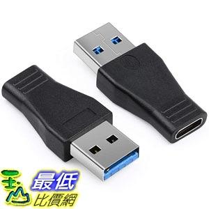 適配器 Electop USB 3.0 Male to Type C Female Adapter (2 Pack) Type A to C USB 3.0 Male to 3.1