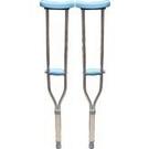 松護友 醫療用枴杖 (未滅菌)  (鋁製腋下柺-藍)