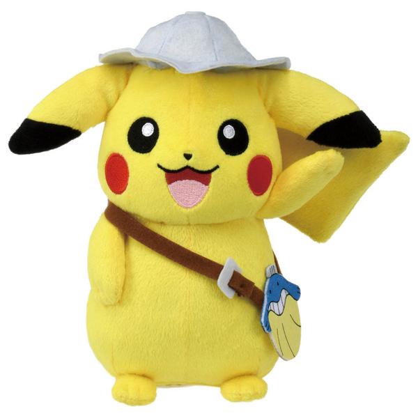 Pokemon GO 精靈寶可夢 劇場版可可 皮卡丘娃娃_PC16517