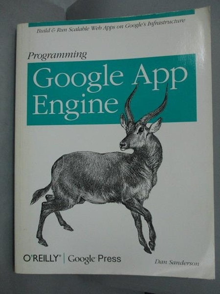【書寶二手書T4/電腦_WFO】Programming Google App Engine (Animal Guide)