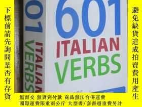 二手書博民逛書店601罕見Italian Verbs (小16開)Y5460 Emaanuele Occhipinti Ber
