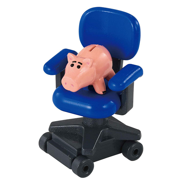 TOMICA 玩具總動員小汽車 火腿豬&安迪椅子