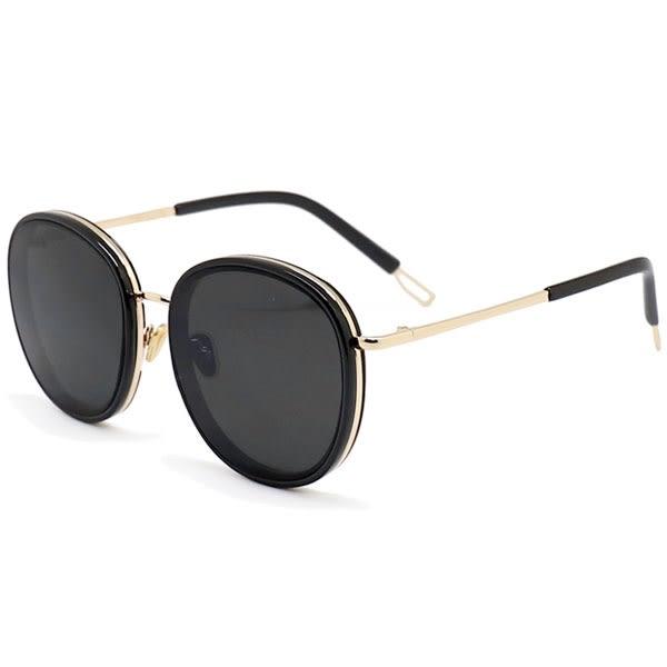OT SHOP太陽眼鏡‧韓風明星網美時尚大框抗UV400墨鏡‧全黑/漸層茶/灰粉/海洋粉‧現貨四色‧U91
