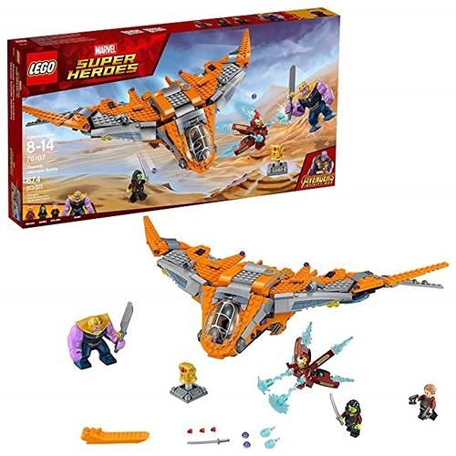 LEGO 樂高 Marvel Super Heroes Avengers: Infinity War Thanos: Ultimate Battle 76107 (674 Piece)