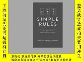 二手書博民逛書店Simple罕見Rules: How to Thrive in