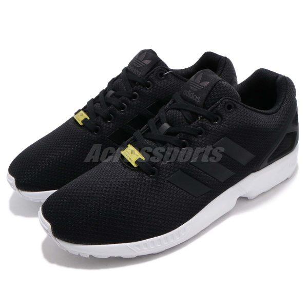 【六折特賣】adidas 休閒慢跑鞋 ZX Flux 黑 白 基本款 Kanye West 男鞋 女鞋 黑白 情侶鞋【PUMP306】 M19840