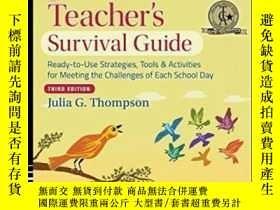 二手書博民逛書店The罕見First-year Teacher s Survival Guide: Ready-to-use St