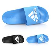 ADIDAS 男運動拖鞋(免運 游泳 海邊 海灘 戲水 拖鞋 愛迪達≡排汗專家≡
