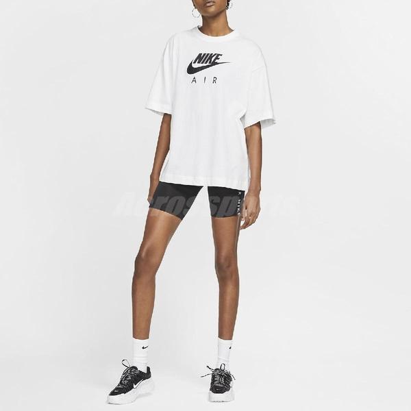 Nike 短袖T恤 Air Top 黑 白 女款 短T 運動休閒 【PUMP306】 CJ3106-100