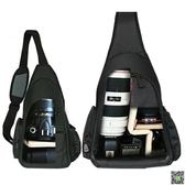 相機包 攝影包簡約單肩小單反相機包斜跨包男女輕便三角戶外輕型背包 JD 玩趣3C