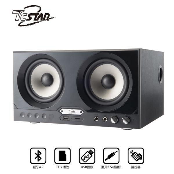 T.C.STAR TCS3101BK 黑/USB藍牙喇叭