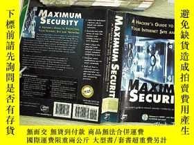 二手書博民逛書店Maximum罕見Security: A Hackers Gui