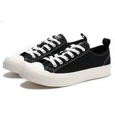 KANGOL 帆布 餅乾鞋 黑色 黑標 休閒 女(布魯克林) 6952200120
