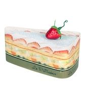【日本製】【Le patissier】日本製 今治毛巾 切片蛋糕造型 薄荷色(一組:3個) SD-4014-3 - 日本製