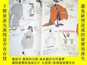 二手書博民逛書店How罕見to draw Japanese and European Clothing Book Kimono Y