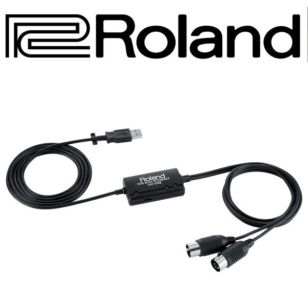 【非凡樂器】Roland UM-ONE mk2 / USB MIDI Interface介面 / 公司貨保固