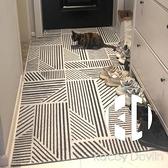 進門口玄關地墊入戶門腳墊子絲圈地毯家用防滑可裁剪【Kacey Devlin】