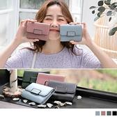 《ZB0621》仿皮革壓扣短皮夾/錢包 OrangeBear