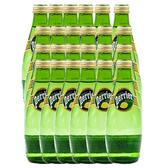 (組)法國沛綠雅氣泡天然礦泉水檸檬330ml 24入組