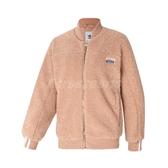 adidas 外套 R.Y.V. Jacket 粉紅 白 女款 雪帕刷毛 羔羊外套 Angelababy 【PUMP306】 FN2797