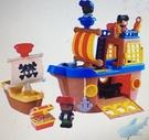 [COSCO代購] W131305 Playgo 聲光海盜船