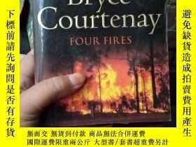 二手書博民逛書店Bryce罕見Courtenay:Four Fires 英文原版