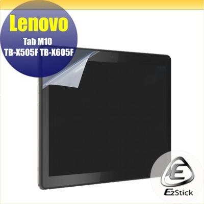 【Ezstick】Lenovo Tab M10 TB-X505F TB-X605F 靜電式平板LCD液晶螢幕貼 (鏡面)