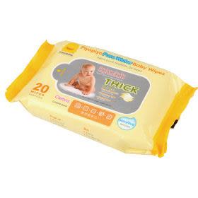 **小饅頭**黃色小鴨 嬰兒柔濕巾20抽(單入)(88246)
