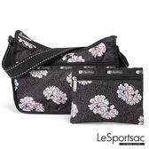 LeSportsac - Standard側背水餃包/流浪包-附化妝包 (牡丹派對) 7520P F083
