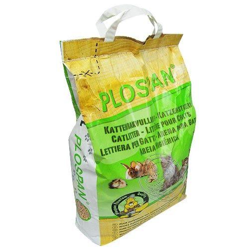 【培菓幸福寵物專營店】PLOSPAN》荷蘭維特環保木屑貓砂10L*1包(杉木砂、松木砂)