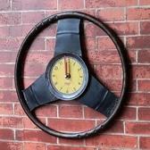 創意時鐘-美式工業風賽車方向盤藝術壁鐘72z35【時尚巴黎】
