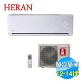 禾聯 HERAN CSPF 頂級旗艦型單冷變頻一對一分離式冷氣 HI-N851 / HO-N851