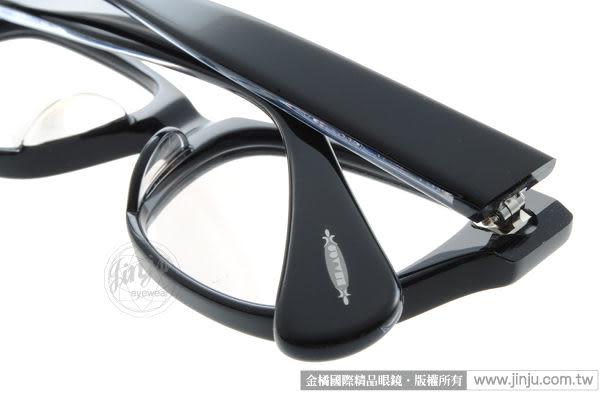 OLIVER PEOPLES 光學眼鏡 WACKSJ BKS (黑色) 平光鏡框 # 金橘眼鏡