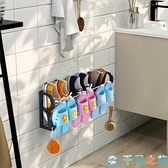 免打孔浴室拖鞋架壁掛式墻壁簡易門口鞋架衛生間收納【千尋之旅】