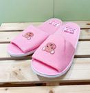 【震撼精品百貨】PostPet_MOMO熊~室內拖鞋~粉色#06154