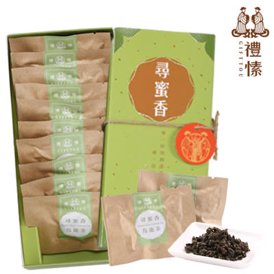 禮愫GIFTTOU  尋蜜香  蜜香烏龍 原葉茶包 (10入) 台灣茗茶